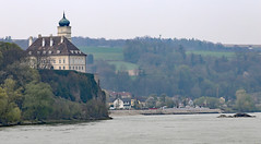 Schloss Schoenbuehel and Village of Aggsbach Wachau Valley (photo_paddler) Tags: urope austria wachau valley village color outdoor spring day availablelight wachauvalley