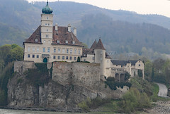 Schloss Schoenbuehel Aggsbach Wachau Valley (photo_paddler) Tags: urope austria wachau valley village color outdoor spring day availablelight wachauvalley