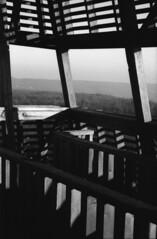 Viewpoint (lumpy79) Tags: praktica mtl5 helios44m 258 ilford hp5 400 1600 viewpoint blackandwhite bw feketefehér kilátó