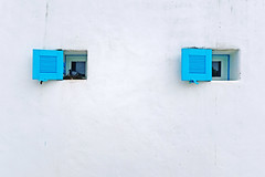 Eye opened. (Andy @ Pang Ket Vui ( shootx2 )) Tags: thailand santorini park blue fujifilm x100f wclx100ii chaam district hua hin