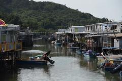 Hong Kong - Tai O Fishing Village (PierBia) Tags: hong kong tai o fishing village nikon d810 cina