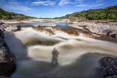 Shadow in the River (slange789) Tags: pedernales falls state park