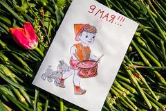 9 мая (Jess Aerons) Tags: открытка рисунок 9 мая
