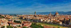 Firenze panoramica - Panoramic Florence (Eugenio GV Costa) Tags: firenze toscana panorama cielo nuvole città florence tuscany sky clouds city