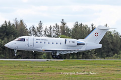 CL604 CHALLENGER T-751 SWISS AIR FORCE (shanairpic) Tags: military bizjet executivejet corporatejet cl604 challenger shannon swissairforce t751