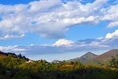 Σύννεφα στον ορίζοντα (ritvank) Tags: sky clouds mountain ουρανόσ σύννεφα βουνό небе облаци планина landscape outdoor forest гора δάσοσ green blue