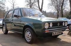 NJS 458S (1) (Nivek.Old.Gold) Tags: 1978 volkswagen golf gls 5door 1457cc hh williammunro invergordon
