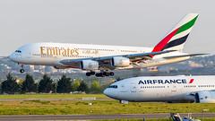 Airbus A380-861 A6-EUA Emirates (William Musculus) Tags: a6eua emirates airbus a380861 paris charles de gaulle lfpg cdg airport spotting aviation plane airplane william musculus ek uae a380800