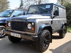 C297 MJR (Nivek.Old.Gold) Tags: 1985 land rover 90 hardtop 2495cc diesel hh