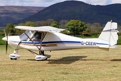 G-CEEW_02 (GH@BHD) Tags: gceew comco ikarus comcoikarus c42 c42fb100 microlight aircraft aviation kilkeelderryogeairfield kilkeel derryoge