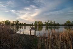 DSC_7666 (alexey.malantsev) Tags: закат небо природа пейзаж весна озеро
