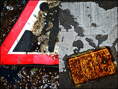 009141 (onesecbeforethedub) Tags: vilem flusser technical images onesecbeforetheend onesecbeforethedub onesecaftertheend photoshop multiple exposure collage malta edinburgh contemporaryart streamofconsciousness details diptych rust