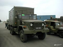 KAS 921 Kaiser-Jeep M109A3, RNAS Yeovilton, Ilchester, Somerset (Kev Slade Too) Tags: kas921 kaiserjeep m109a3 egdy rnasyeovilton ilchester somerset