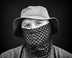 Face Shield Studio Selfie (Steve Holsonback) Tags: sa company selfie face shield hat sony a7rii fe 85mm f18