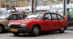 Citroën GSA Spécial 1985 (XBXG) Tags: lx32lk citroën gsa spécial 1985 citroëngsa gs red rood rouge citromobile 2019 citro mobile carshow expo haarlemmermeer stelling vijfhuizen nederland holland netherlands paysbas youngtimer old classic french car auto automobile voiture ancienne française france frankrijk vehicle indoor