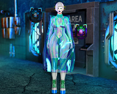 0956 (Luna X Takemitsu) Tags: cranked cyberpunk flair for event ff fakeicon n21 ntwenty1 sintiklia kinky fair gacha rare luas lv100 leluck unicult lychee tatoo genus maitreya belleza omega applier mesh aisha oinc cyber punk neon backdrop