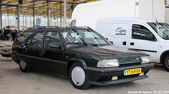 Citroën BX TZD Turbo Break 1990 (XBXG) Tags: yt69xh citroën bx tzd turbo break 1990 citroënbx turbodiesel td diesel gazole mazout green vert triton citromobile 2019 citro mobile carshow expo haarlemmermeer stelling vijfhuizen nederland holland netherlands paysbas youngtimer old french car auto automobile voiture ancienne française france frankrijk vehicle indoor