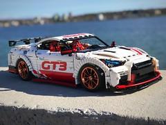 Nissan GT-R Godzilla gold edition- follow @loxlego
