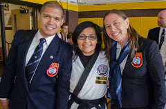 Soon each going their own path (TheBurgners) Tags: tournament wtsda sanfrancisco missionhigh tang soo do