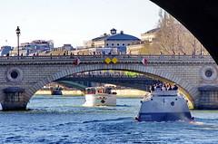 466 Paris en Mars 2019 - La Seine, Pont Louis-Philippe, Pont d'Arcole, Pont Notre-Dame (paspog) Tags: paris france seine mars march märz 2019 pontdarcole pontnotredame pontlouisphilippe pont brücke bridge