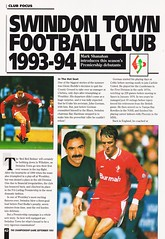 The Championship Game - September 1993 - Page 42 (The Sky Strikers) Tags: the championship game premier league magazine september 1993 two pounds