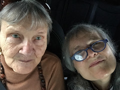 IMG_0480 / remembering momma (janeland) Tags: sanfrancisco california 94132 hardingpark selfie jane mom mothersday january 2015 human iphone