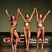 Bikini Novice 2nd Mijatovic 1st Pinney-Dimock
