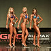 Bikini Masters 2nd Lekawski 1st Stauttener 3rd Cobetto