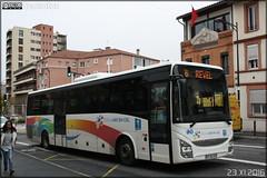 Iveco Bus Crossway - Arc-en-Ciel (Semvatac) Tags: semvatac photo bus tramway métro transportencommun ivecobus crossway dy562eb arcenciel 56 revel avenuecamillepujol toulouse hautegaronne camillepujol
