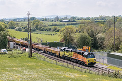 70802 at Dunhampstead  [6C21] 11.05.2019 (Wolfie2man) Tags: worcestershirerailways colas colasrail colasrailfreight class70 dunhampstead 70802
