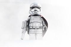 LEGO Captain Phasma (weeLEGOman) Tags: lego captain phasma silver grey stormtrooper star wars minifigure minifigures toy macro photography uk nikon d7100 105mm rob robert trevissmith weelegoman