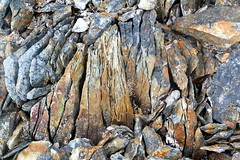 Líparít (hó) Tags: rhyolite rock mælifell geology colours colors nature abstract may 2019 iceland snæfellsnes