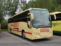 DSCN9196 Andrew's, Tideswell YN11 AXX (Skillsbus) Tags: buses coaches france andrews tideswell derbyshire peakdistrict england yn11axx volvo b9r plaxton panther nst
