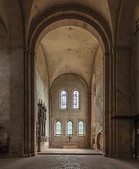Kloster Eberbach (ulrichcziollek) Tags: hessen eberbach kirche kirchenschiff kloster romanik romanisch