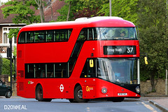 Volvo B5LHC (Non-A/C) 10.6m (Samson Ng . D201@EAL) Tags: londonbuses goaheadlondon