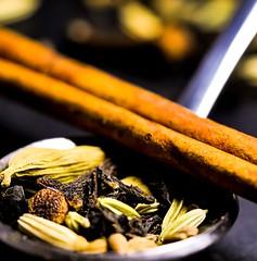 spoonful of ... chai tea herbs - hmm - (dkphoto74) Tags: gx8 panasonic lumix tea chai natural macro herbs spoonful macromondays