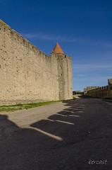 CARCASSONNE-040--OCCITANIE-PANORAMIQUE-_DSC0468-2 (bercast) Tags: aude carcassonne chateau chateaumedival france lesremparts occitanie ue bc bercast lacitédecarcassonne lamuraille