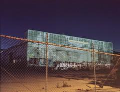 Waiting for demo (ADMurr) Tags: la eastside factory toyo 45cf kodak ektar streetlit long exposure 4x5 lf dad6673