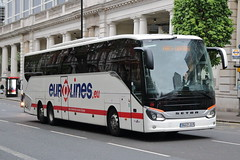 338 9443 JLP (ANDY'S UK TRANSPORT PAGE) Tags: buses london eurolines