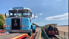 London to Brighton 2019 (South Strand Trucking) Tags: hcvs lorry transport vintage road run rally restoration atkinson volks electric railway gck102n gck 102n tractor train restored pandora northern irish trailers ferries pandoro