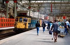 33101, London Waterloo, May 1989 (David Rostance) Tags: 33101 class33 brcw waterloo railwaystation london people nse