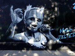 Keith Flint, The Prodigy a mural in Dublin Ireland (Harry_Warren) Tags: dublin ireland keith flint the prodigy