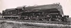 "Australia Railways - South Australian Railways (broad gauge) Class 620 4-6-2 steam locomotive Nr. 620 ""Sir Winston Dugan"" (Islington Railway Workshops 1936) (HISTORICAL RAILWAY IMAGES) Tags: sar australia steam locomotive train railway 462 620"