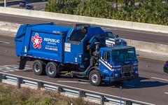 Autocar Xpeditor (NoVa Truck & Transport Photos) Tags: truck big rig autocar xpeditor republic services trash garbage waste side loader