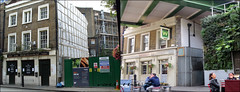 The Wheatsheaf Pub`Stoney Street`2009-2019 (roll the dice) Tags: london old southwark se1 vanished demolished urban england uk classic art local history retro bygone changes collection streetfurniture people fashion architecture pub publichouse boozer beer ale mad surreal nostalgia comparison youngs oldandnew pastandpresent hereandnow boroughmarket eat marksmen bollards train transport travel canon tourism tourists riverthames bankside shadows entrance skanska bush sign windows chopped