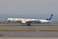All Nippon Airways (himiyoki) Tags: starwars hnd rjtt haneda tokyo ana allnipponairways