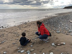 Lawrencetown Provincial Beach, Nova Scotia (brownpau) Tags: iphonex canada novascotia halifax beach lawrencetown lawrencetownbeach amykow amyandezra atlantic ocean ezraordo ezra