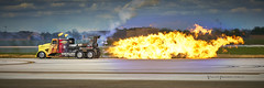 Shockwave Jet truck (Valley Imagery) Tags: shockwave jet truck flame fire jba 2019 airshow sony a99ii 70400gii