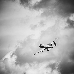 Wartog Heading home (Valley Imagery) Tags: a10 wartog aircraft cas black white clouds airshow display jba andrews 2019 sony a99ii 70400gii moody rain