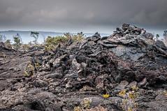 Old lava flow around Kilauea (bfluegie) Tags: bigisland hawaii hawaiivolcanoesnationalpark kilauea volcano